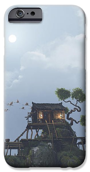 Fog Mist iPhone Cases - Wu Fangzi iPhone Case by Cynthia Decker