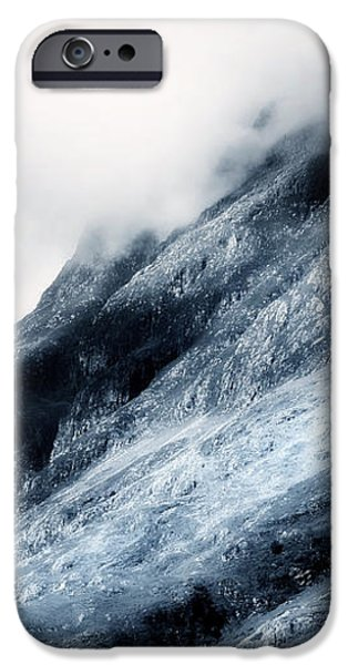 Wuthering Heights. Glencoe. Scotland iPhone Case by Jenny Rainbow