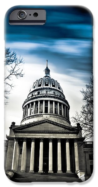 Capitol iPhone Cases - WV State Capitol Building iPhone Case by Shane Holsclaw