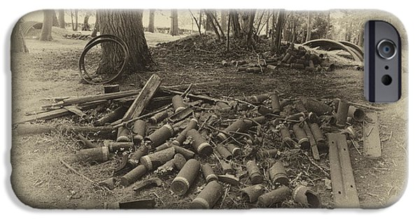 Ww1 Photographs iPhone Cases - WW1 Shells  iPhone Case by Rob Hawkins