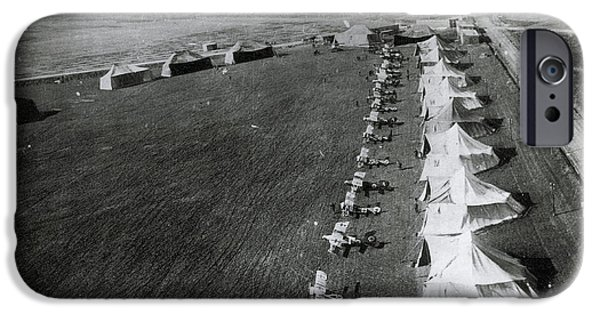 Wwi iPhone Cases - Wwi, Manfred Von Richthofens Flying iPhone Case by Photo Researchers