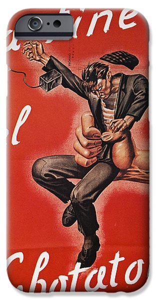 WWII: ITALIAN POSTER, 1944 iPhone Case by Granger