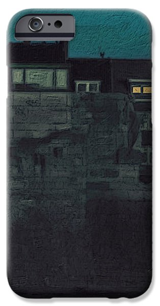 Wyck by Night iPhone Case by Nop Briex