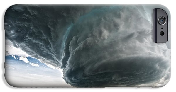 Storm Photographs iPhone Cases - Wyoming Beauty iPhone Case by Colt Forney