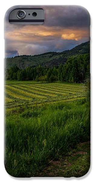 Wyoming Pastures iPhone Case by Chad Dutson