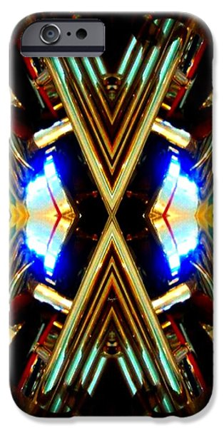 Socal Mixed Media iPhone Cases - X Factor iPhone Case by Romy Galicia