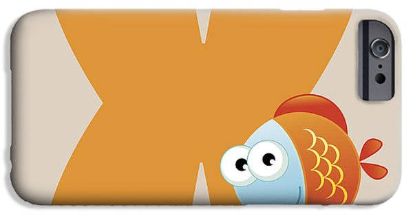 Children iPhone Cases - X iPhone Case by Gina Dsgn