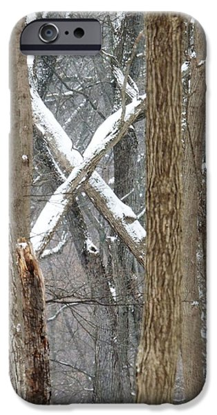 Todd Sherlock Photographs iPhone Cases - X marks the spot iPhone Case by Todd Sherlock