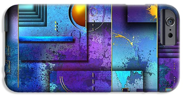 """digital Abstract"" iPhone Cases - Xxx iPhone Case by Franziskus Pfleghart"