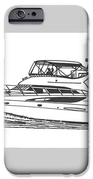 Yachting good times iPhone Case by Jack Pumphrey