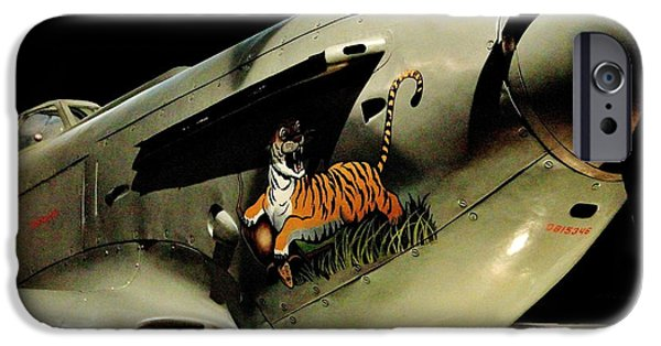 Yak iPhone Cases - Yak 9 Tiger iPhone Case by Benjamin Yeager