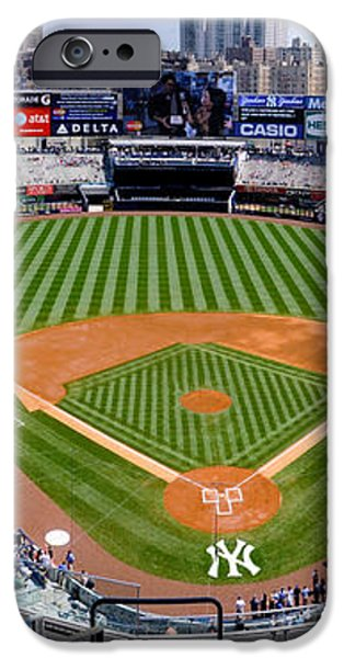 Yankee Stadium 1 iPhone Case by Bob Stone