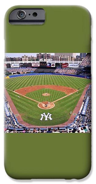 Yankee Stadium iPhone Case by Allen Beatty