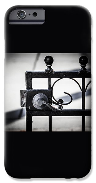 Ybor City Gate iPhone Case by Carolyn Marshall