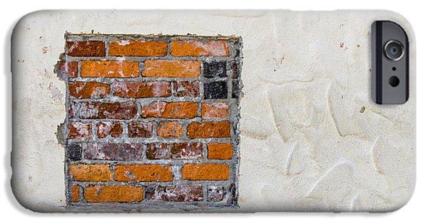 Dirty iPhone Cases - Ybor City Hidden Brick iPhone Case by Carolyn Marshall