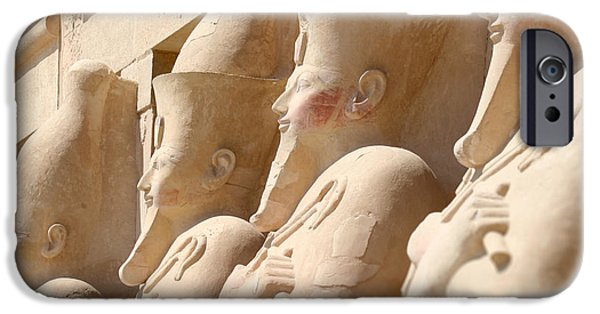 Hathor iPhone Cases - Years and years.. iPhone Case by A Rey