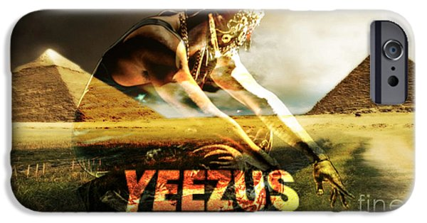 Kanye West iPhone Cases - Yeezus2 iPhone Case by Maryfornia  Collections