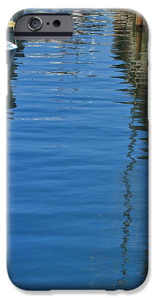 Yellow and Blue Sailboats from the book MY OCEAN iPhone Case by Artist and Photographer Laura Wrede