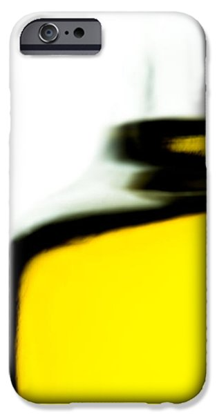Yellow Blue iPhone Case by Bob Orsillo