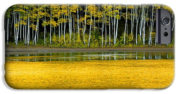 Mountain iPhone Cases - Yellow iPhone Case by Chad Dutson