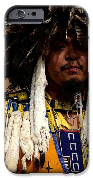 Religious Photographs iPhone Cases - Yellow Dancer iPhone Case by Joe Kozlowski