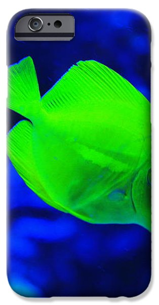 Yellow Fish iPhone Case by Emrah Selamet
