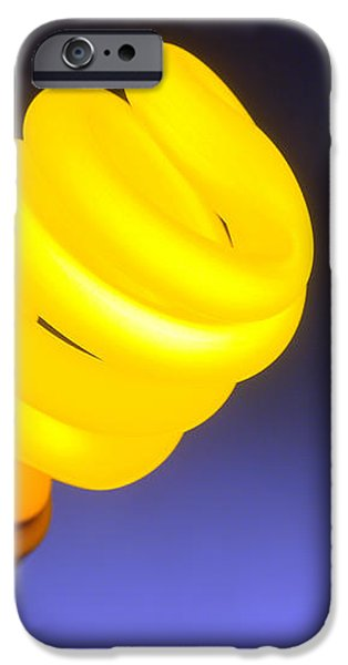 Yellow Light iPhone Case by Olivier Le Queinec