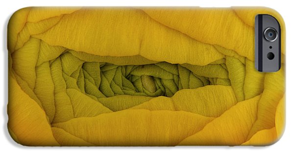 Beauty Mark iPhone Cases - Yellow iPhone Case by Mark Johnson