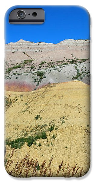 Yellow Mounds Badlands National Park iPhone Case by Jemmy Archer