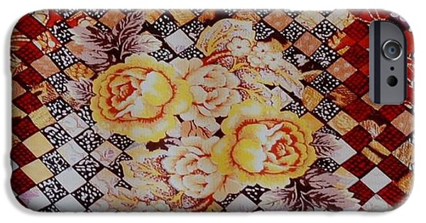Basket iPhone Cases - Yellow Roses iPhone Case by Rob Hans