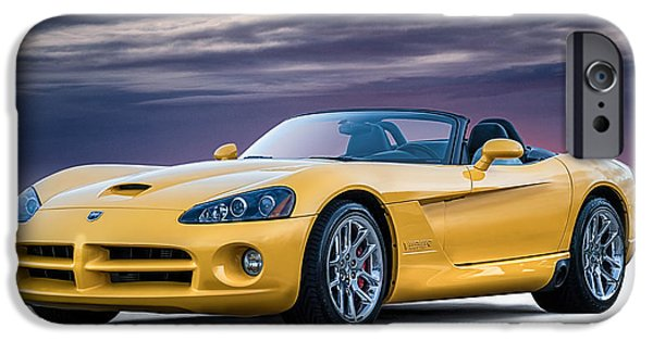 Convertible iPhone Cases - Yellow Viper Convertible iPhone Case by Douglas Pittman