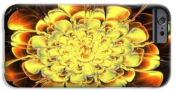 Flora iPhone Cases - Yellow Water Lily iPhone Case by Anastasiya Malakhova