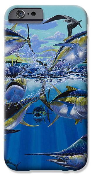 Yellowfin run Off002 iPhone Case by Carey Chen
