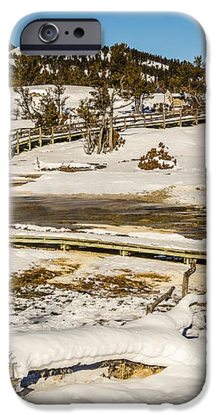 Yellowstone Hot Spring iPhone Case by Sue Smith
