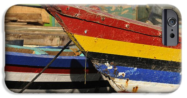 East Village iPhone Cases - Yemen, Bayt Al-faqih. Fishing Boats © iPhone Case by Tips Images