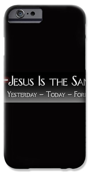 Yesterday Today Forever iPhone Case by Carolyn Marshall