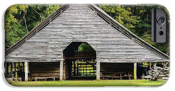 Recently Sold -  - Old Barns iPhone Cases - Yesterdays Barn iPhone Case by Elvis Vaughn