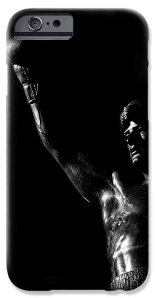 Sylvester Stallone iPhone Cases - Yo Adrian iPhone Case by Nicholas  Pappagallo Jr