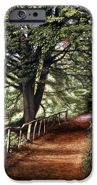 Pathway Pastels iPhone Cases - Yockletts Bank iPhone Case by Rosemary Colyer