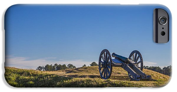 Best Sellers -  - Yorktown Virginia iPhone Cases - Yorktown Cannon iPhone Case by Jerry Hughes