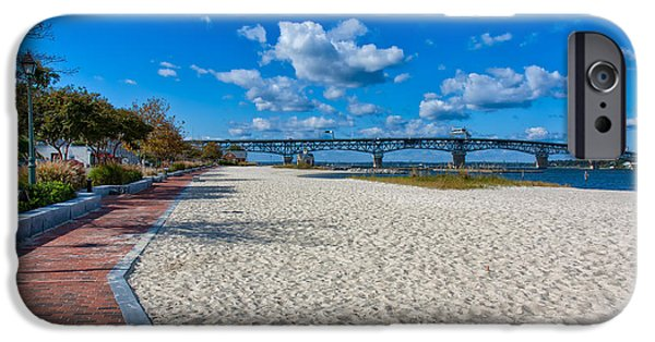 Yorktown Virginia iPhone Cases - Yorktown River Walk iPhone Case by John Bailey
