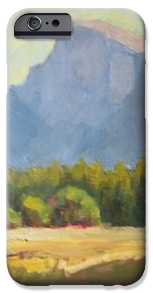 Eva Marie iPhone Cases - Yosemite iPhone Case by Eva Tanner-Klaas