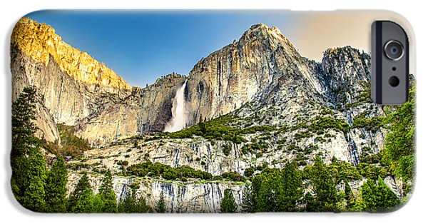 Fall Photos iPhone Cases - Yosemite Falls  iPhone Case by Az Jackson