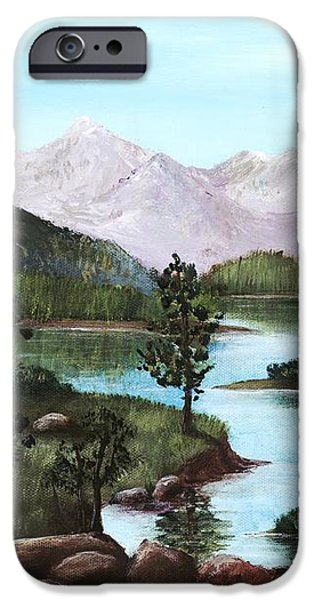 Yosemite Meadow iPhone Case by Anastasiya Malakhova