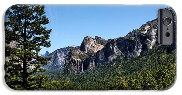 United iPhone Cases - Yosemite National Park iPhone Case by Judy Vincent