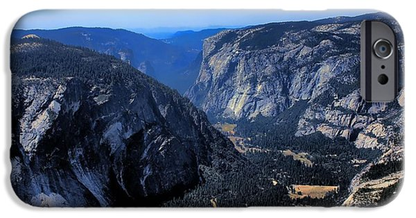 444 iPhone Cases - Yosemite iPhone Case by RJ Aguilar