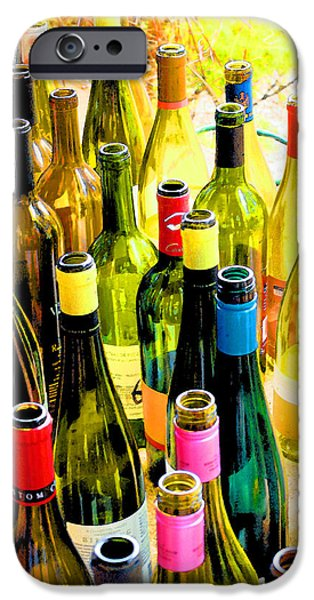 You are invited to a wine tasting... iPhone Case by Margaret Hood