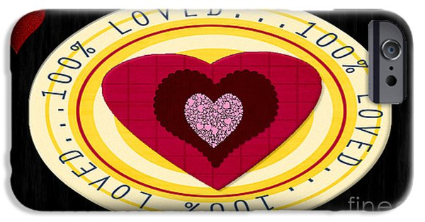 Multimedia iPhone Cases - You Are Loved iPhone Case by Tina M Wenger