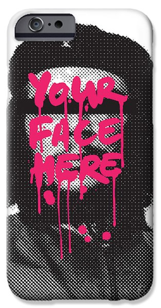 Spray Paint iPhone Cases - You can be hero too iPhone Case by Budi Kwan