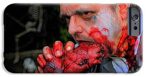 Dawn Of The Dead iPhone Cases - You Got To Have Heart iPhone Case by Jon Volden